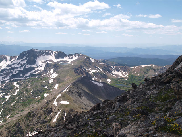 Mt. Neva, Lake Dorothy, South Arapaho Peak
