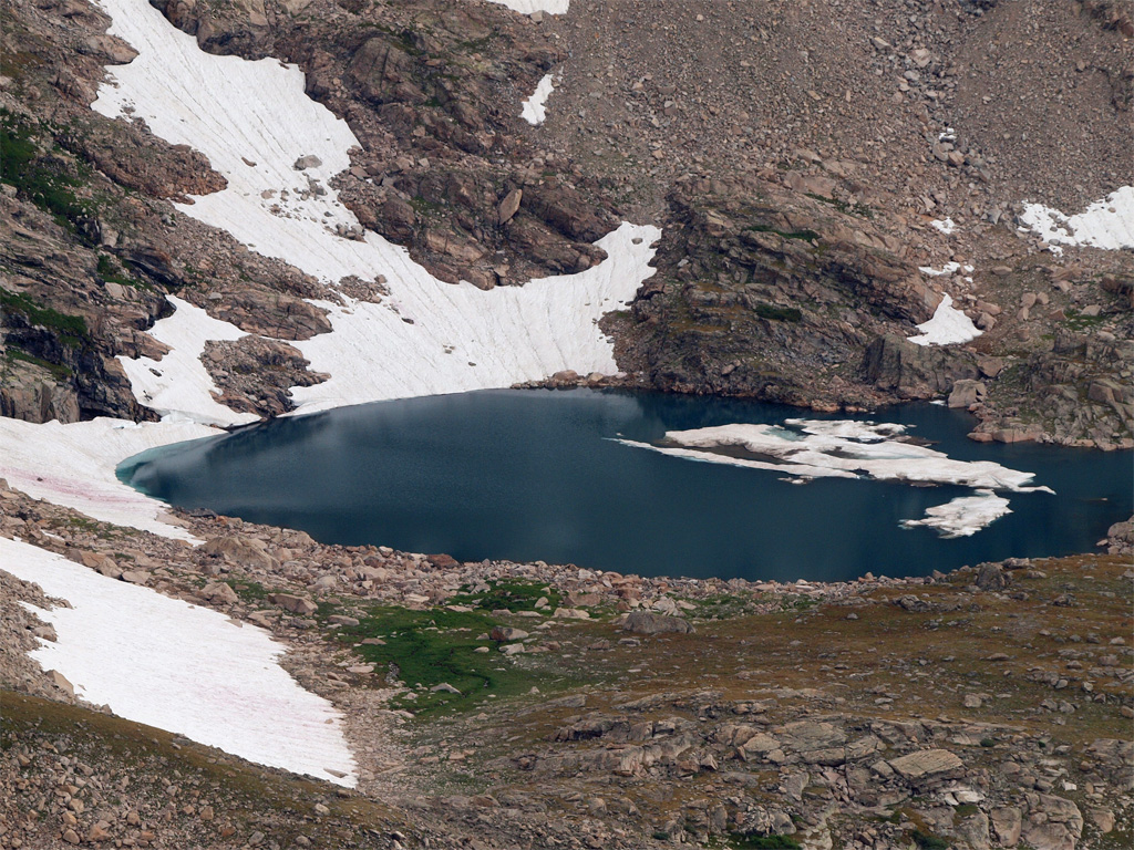 Glacial Lake, Pawnee Pass