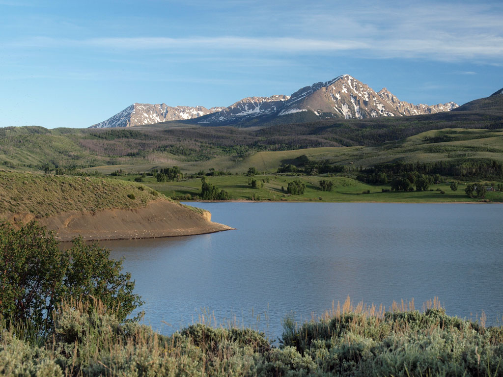 Guyselman Mountain, Green Mountain Reservoir