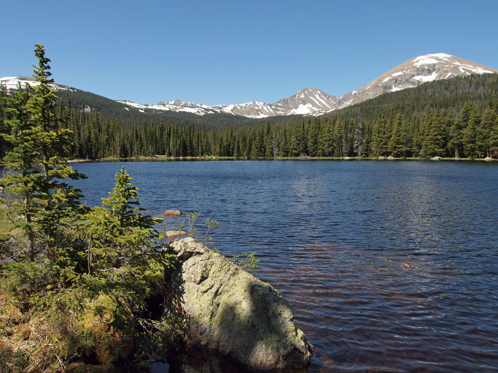 Finch Lake, Oagalalla Peak, Copeland Mountain