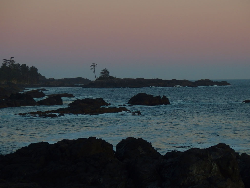 sunset, Wild Pacific Trail, Ucluelet