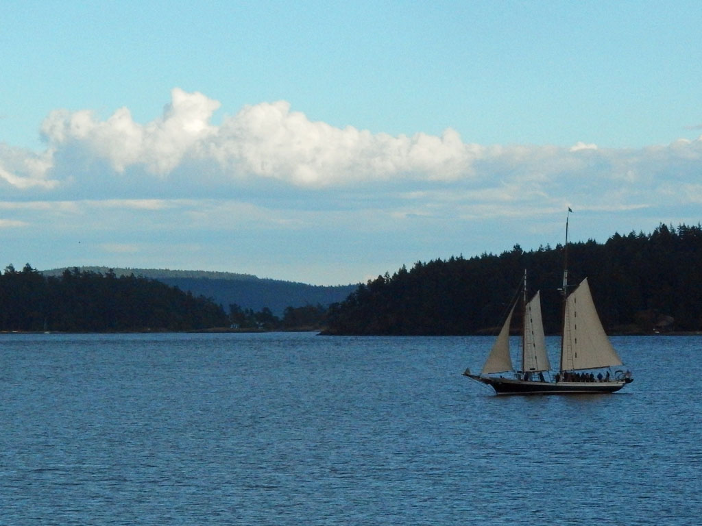 Sailboat, San Juan Islands National Monument