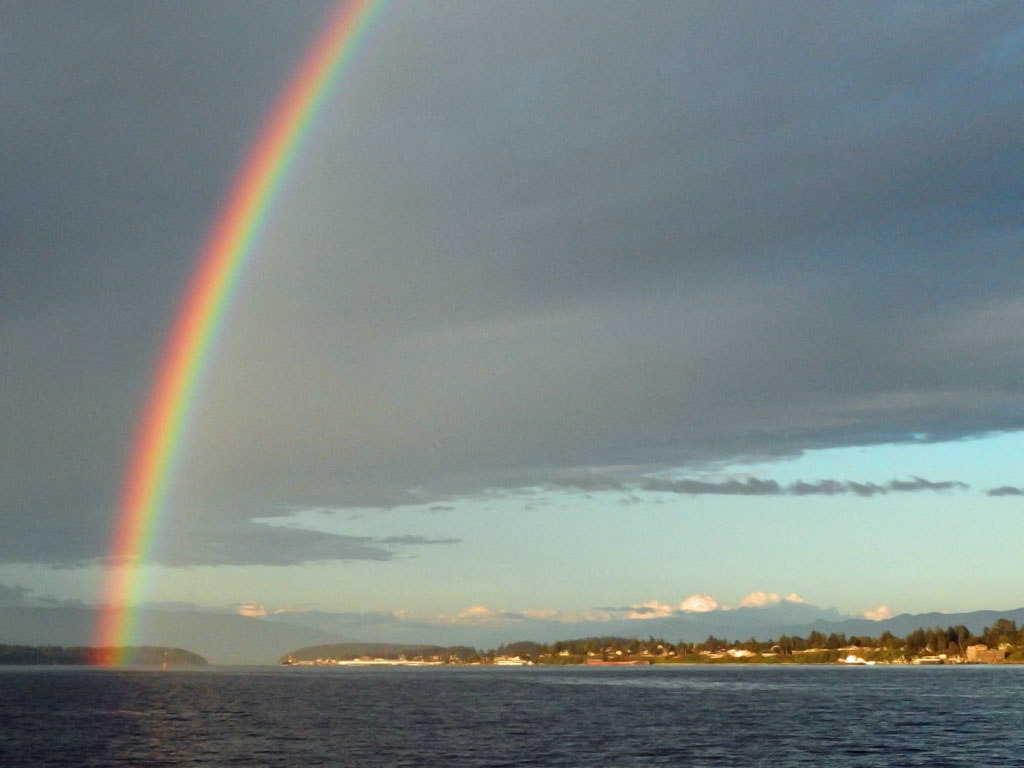 Rainbow, Anacortes