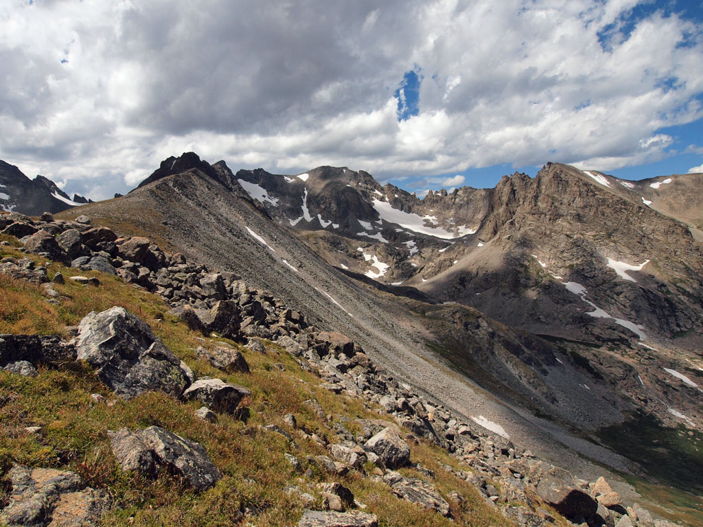 Niwot Ridge, Indian Peaks, Isabelle Glacier